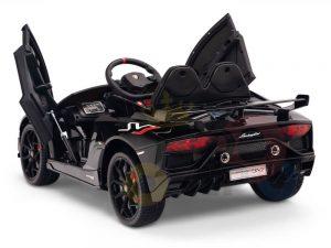 KIDS VIP 12V RIDE ON CAR LAMBORGHINI AVENTADOR KIDS black 11