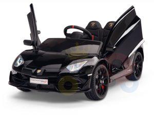 KIDS VIP 12V RIDE ON CAR LAMBORGHINI AVENTADOR KIDS black 2