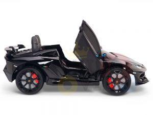 KIDS VIP 12V RIDE ON CAR LAMBORGHINI AVENTADOR KIDS black 4