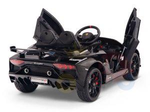 KIDS VIP 12V RIDE ON CAR LAMBORGHINI AVENTADOR KIDS black 5