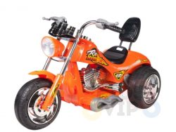 kids ride on motorcycle 12v hawk bmw orange 1