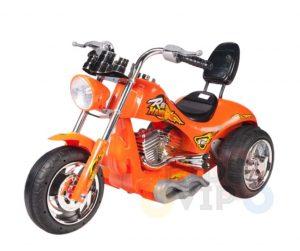 kids ride on motorcycle 12v hawk bmw orange 1