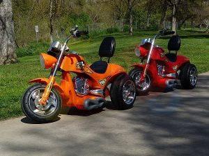 kids ride on motorcycle 12v hawk bmw orange 10