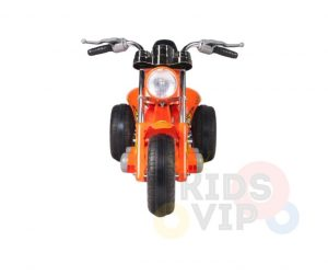 kids ride on motorcycle 12v hawk bmw orange 3
