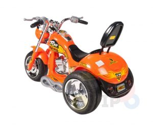 kids ride on motorcycle 12v hawk bmw orange 5