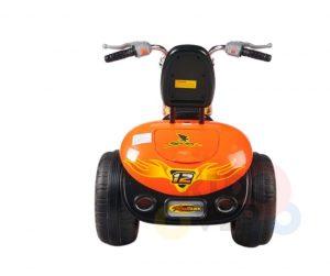 kids ride on motorcycle 12v hawk bmw orange 6