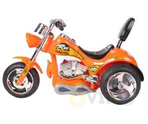 kids ride on motorcycle 12v hawk bmw orange 7