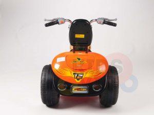 kids ride on motorcycle 12v hawk bmw orange 8