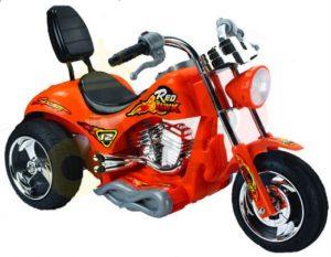 kids ride on motorcycle 12v hawk bmw orange 9