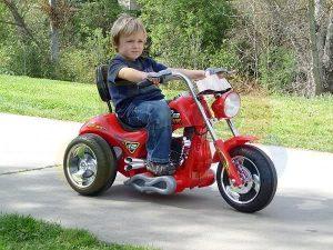 kids ride on motorcycle 12v hawk bmw red 2
