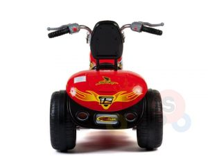 kids ride on motorcycle 12v hawk bmw red 7
