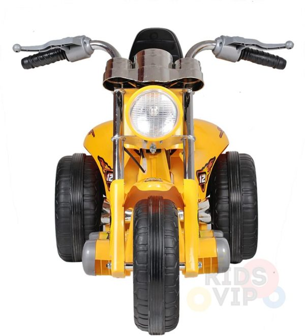 kids ride on motorcycle 12v hawk bmw yellow 10