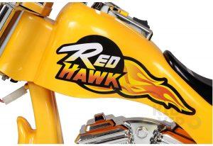 kids ride on motorcycle 12v hawk bmw yellow 6