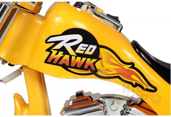 kids ride on motorcycle 12v hawk bmw yellow 6