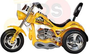 kids ride on motorcycle 12v hawk bmw yellow 7