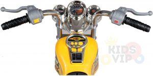 kids ride on motorcycle 12v hawk bmw yellow 8