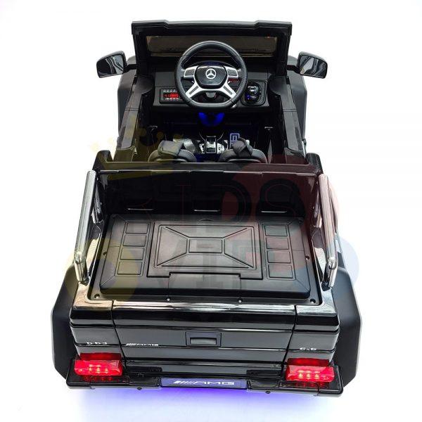 kidsvip 6x6 mercedes g63 ride on heavy duty ride on truck rubber wheels kids toddlers black 1