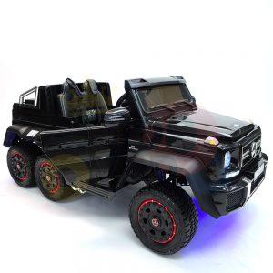 kidsvip 6x6 mercedes g63 ride on heavy duty ride on truck rubber wheels kids toddlers black 20