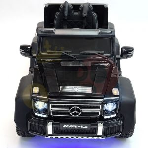 kidsvip 6x6 mercedes g63 ride on heavy duty ride on truck rubber wheels kids toddlers black 22