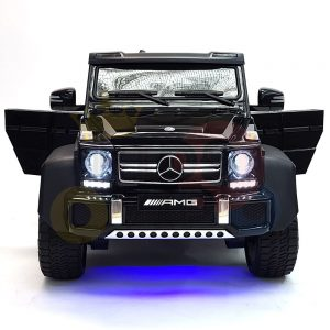 kidsvip 6x6 mercedes g63 ride on heavy duty ride on truck rubber wheels kids toddlers black 27