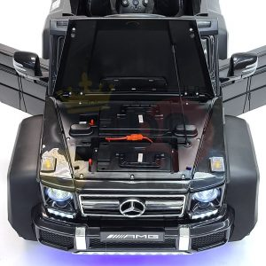 kidsvip 6x6 mercedes g63 ride on heavy duty ride on truck rubber wheels kids toddlers black 29