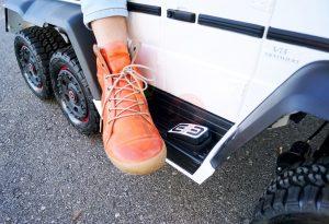 kidsvip 6x6 mercedes g63 ride on heavy duty ride on truck rubber wheels kids toddlers black 44