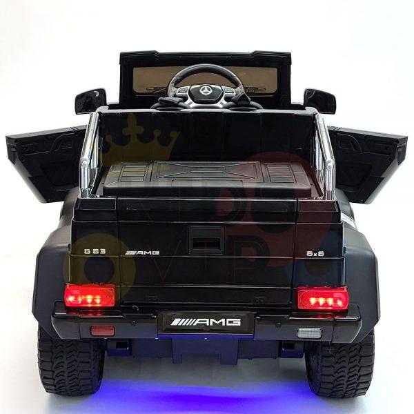 kidsvip 6x6 mercedes g63 ride on heavy duty ride on truck rubber wheels kids toddlers black 5