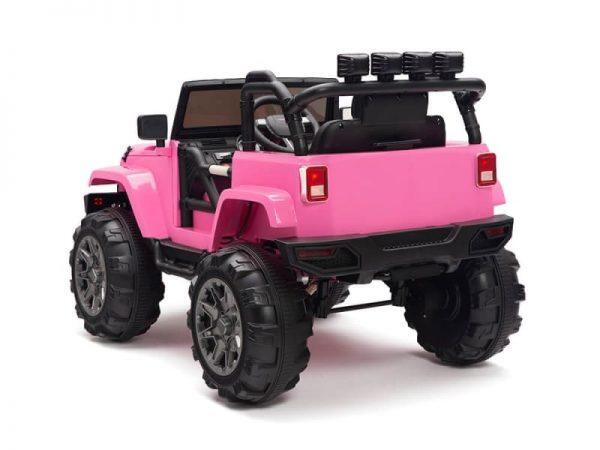 kidsvip big wheels 12v ride on truck jeep 15