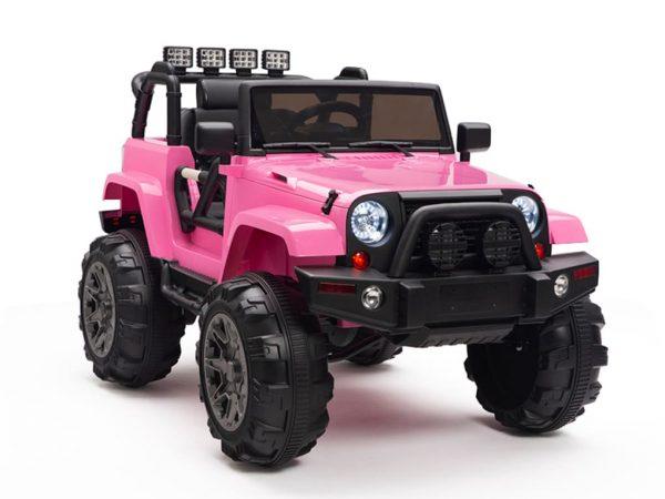 kidsvip big wheels 12v ride on truck jeep 26