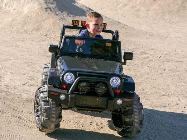 kidsvip big wheels 12v ride on truck jeep 39