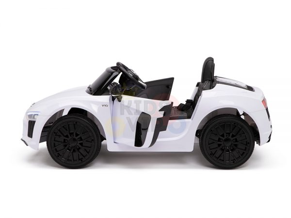 kidsvip audi r8 toddlers kids ride on car 12v white 17