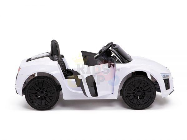 kidsvip audi r8 toddlers kids ride on car 12v white 7