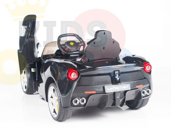 kidsvip laferrari 12 kids and toddlers ride on car with rc red 15