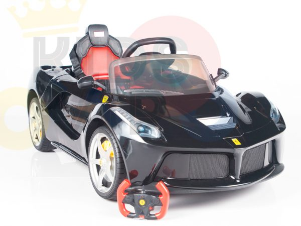 kidsvip laferrari 12 kids and toddlers ride on car with rc red 25 1