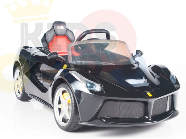 kidsvip laferrari 12 kids and toddlers ride on car with rc red 27