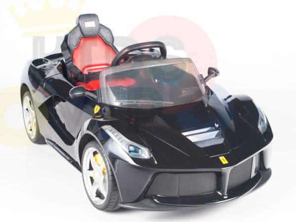kidsvip laferrari 12 kids and toddlers ride on car with rc red 29 1