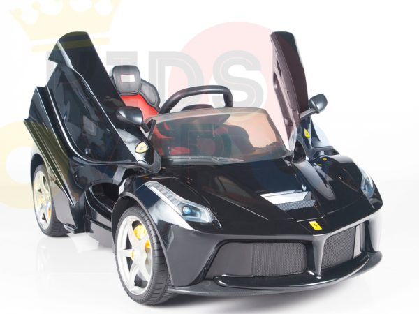 kidsvip laferrari 12 kids and toddlers ride on car with rc red 30
