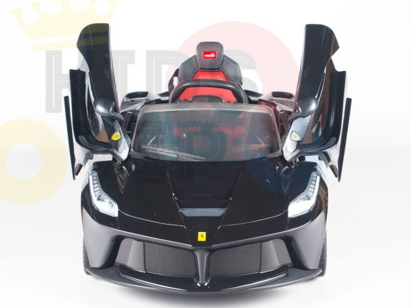 kidsvip laferrari 12 kids and toddlers ride on car with rc red 4 1