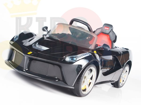 kidsvip laferrari 12 kids and toddlers ride on car with rc red 8 1