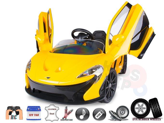 Licensed Eva McLaren P1 12V Electric Ride on Super Car with Remote Control
