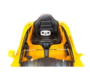 kidsvip ride on kids car 12v toddlers ride on rubber wheels leather seat 19