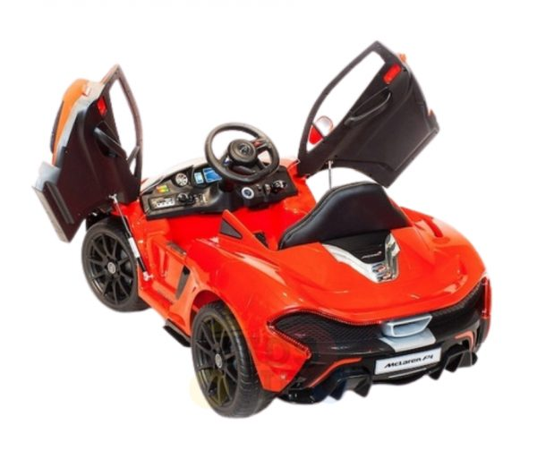 kidsvip ride on kids car 12v toddlers ride on rubber wheels leather seat red 22