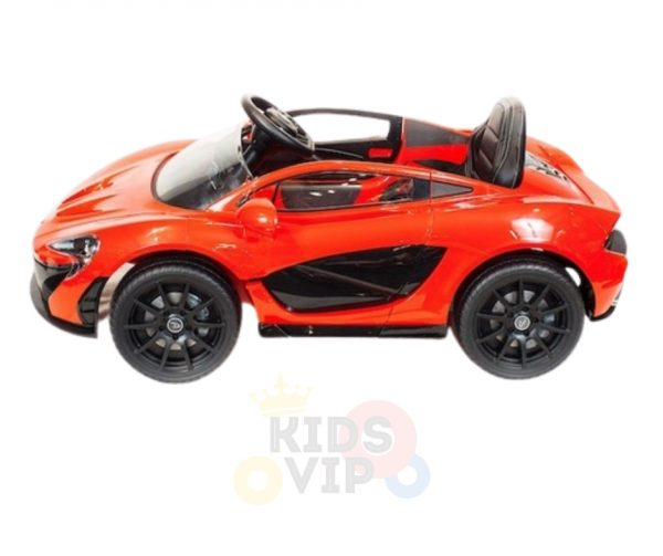 kidsvip ride on kids car 12v toddlers ride on rubber wheels leather seat red 23