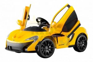 kidsvip ride on kids car 12v toddlers ride on rubber wheels leather seat yellow 14