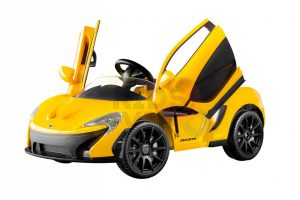 kidsvip ride on kids car 12v toddlers ride on rubber wheels leather seat yellow 19