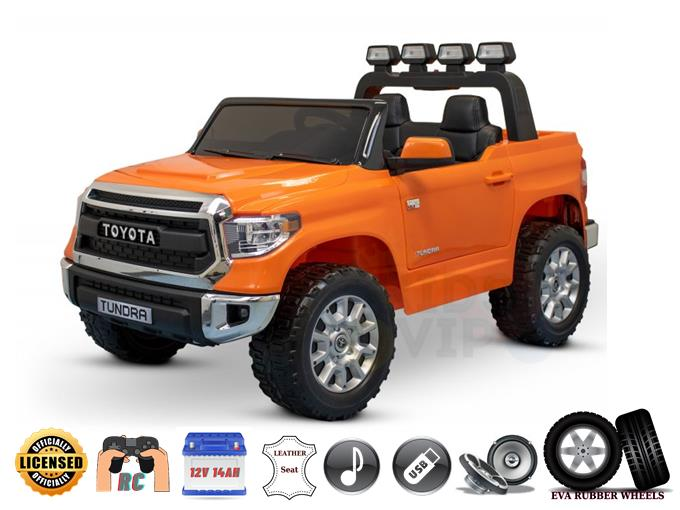 Upgraded Licensed Eva Edition 2 Seater Toyota Tundra Kids Ride On Car / Truck RC