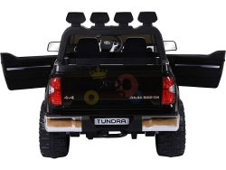 kidsvip 12v toyota tundra kids ride on car 2 seater black 1