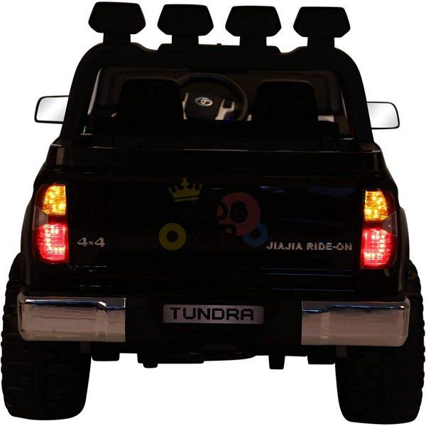 kidsvip 12v toyota tundra kids ride on car 2 seater black 10