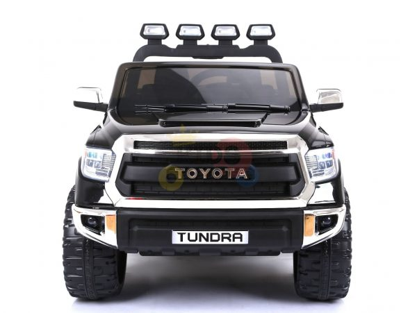 kidsvip 12v toyota tundra kids ride on car 2 seater black 13