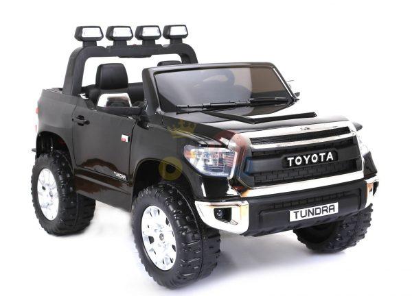kidsvip 12v toyota tundra kids ride on car 2 seater black 14